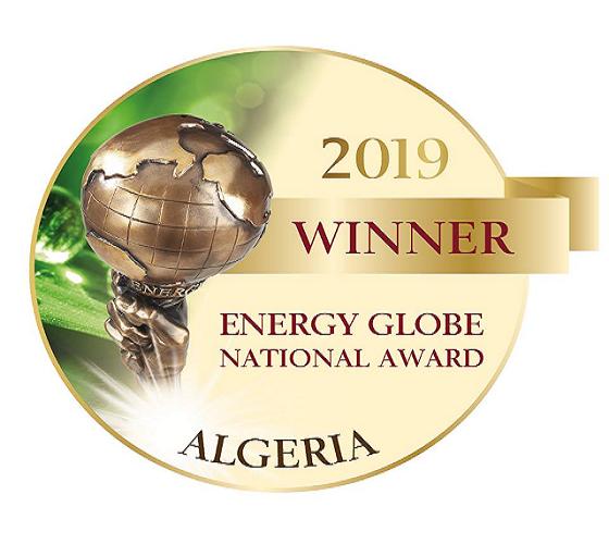 Une équipe de l'UDES/CDER reçoit le prix national de l'énergie globe Algérie 2019