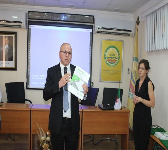 تقديم الطبعة الاولى لأطلس الموارد الطاقوية المتجددة بالجزائر