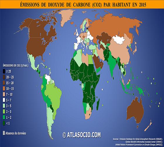 Réduction de gaz à effet de serre : l'Algérie dans une situation avantageuse