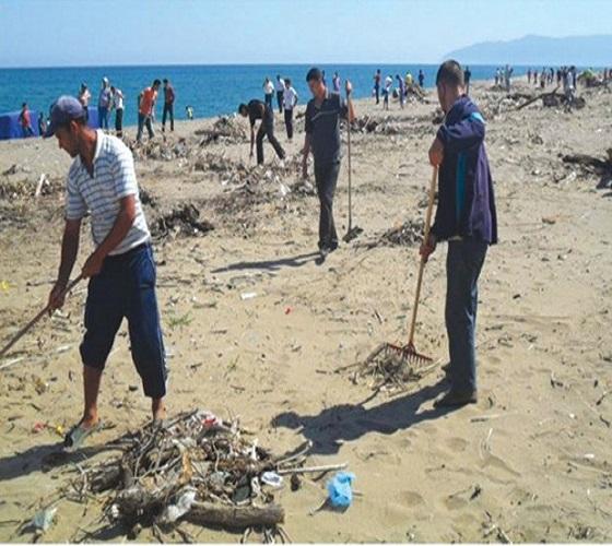 ANNABA :Campagne de sensibilisation à la propreté des plages