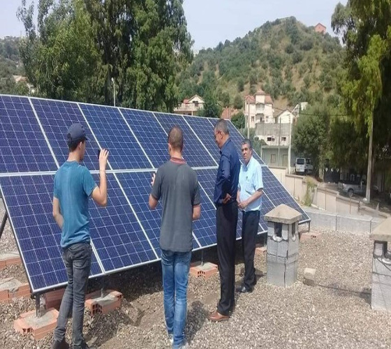 Une Première dans une commune d'Algérie :  le village de Boudjima fonctionne à l'énergie solaire
