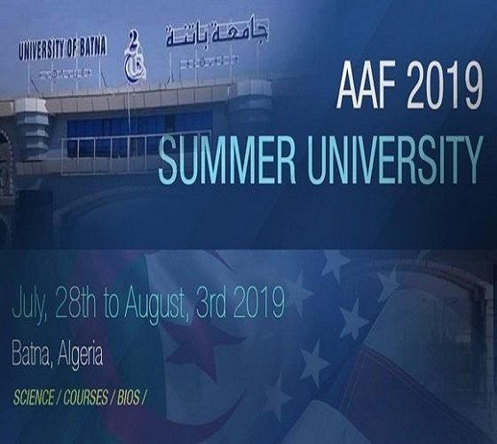 L'université d'été algéro-américaine couronnée de succès
