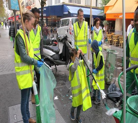 Poursuite de la campagne de nettoiement à travers les communes de Sidi Moussa et Gué de Constantine