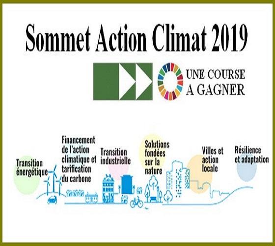Sommet Action Climat 2019: augmenter les ambitions dans la lutte contre les changements climatiques