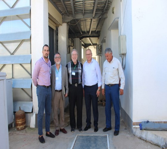 Visite des experts européens aux laboratoires d'essai du CDER