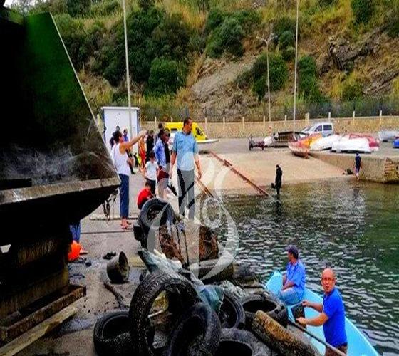 Nettoyage du fond marin au port d'Azeffoune et lancement de l'opération tri des déchets à Tigzirt