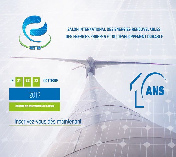 Salon international des énergies renouvelables du 21 au 23 octobre à Oran