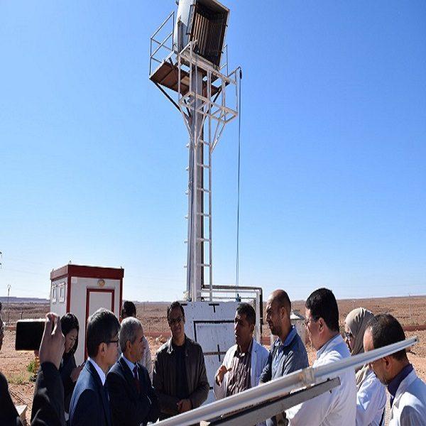 Visite de l'Ambassadeur de Corée du Sud à l'Unité de Recherche Appliquée en Energies Renouvelables URAER/CDER