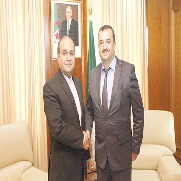 M. Arkab reçoit les ambassadeurs d'Allemagne et d'Iran : Examen de la coopération bilatérale