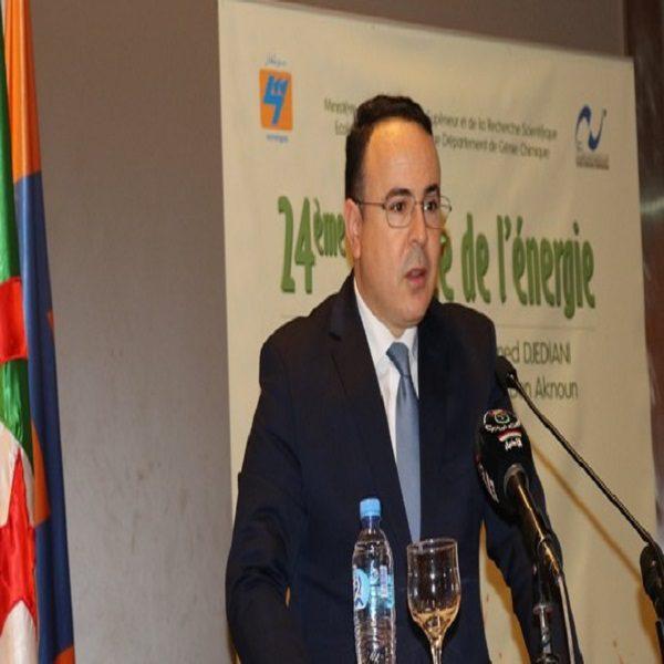 الرئيس المدير العام لسونلغاز يؤكد إرادة الجزائر في الانضمام مجددا لمبادرة ديزرتاك الصناعية لطاقة الصحراء