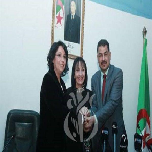 Nassira Benharrats prend ses fonctions de ministre de l'Environnement et des Energie renouvelables