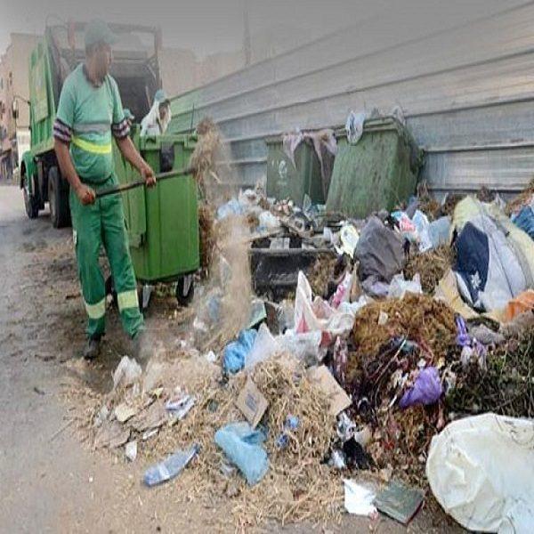 جمع 1.13 مليون طن من النفايات في 2019 : مصالح البيئة تقضي على 144 نقطة سوداء بالعاصمة