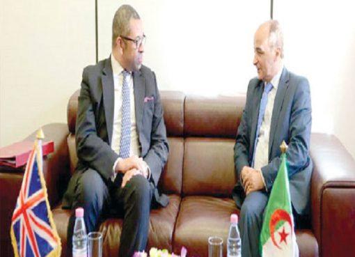 9e session du Dialogue stratégique algéro-britannique : Signature de deux mémorandums d'entente
