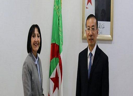 وزيرة البيئة تستقبل سفير الصين بالجزائر