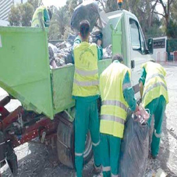 السلطات المحلية تعتبرها حملة غير ظرفية: رفع 2000 طن من النفايات بتبسة