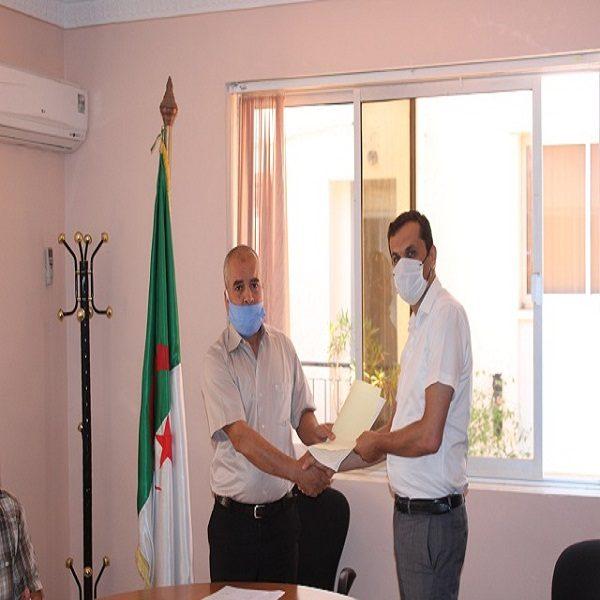 الدكتور خالد إمسعد, نائب مدير مركز تنمية الطاقات المتجددة الجديد
