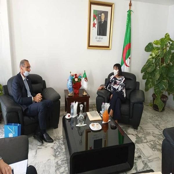 وزيرة البيئة تستقبل السفير المقيم لمنظمة الأمم المتحدة في الجزائر