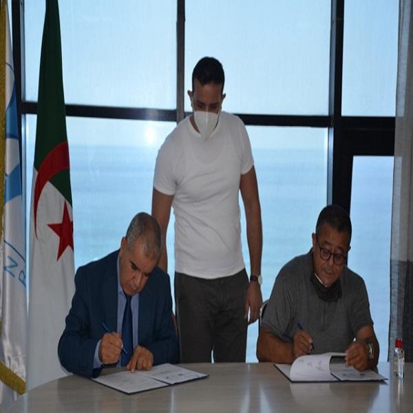 Signature d'une convention cadre de coopération scientifique et technologique entre l'EPST CDER, le CRTI, le CDTA et le CNRDPA