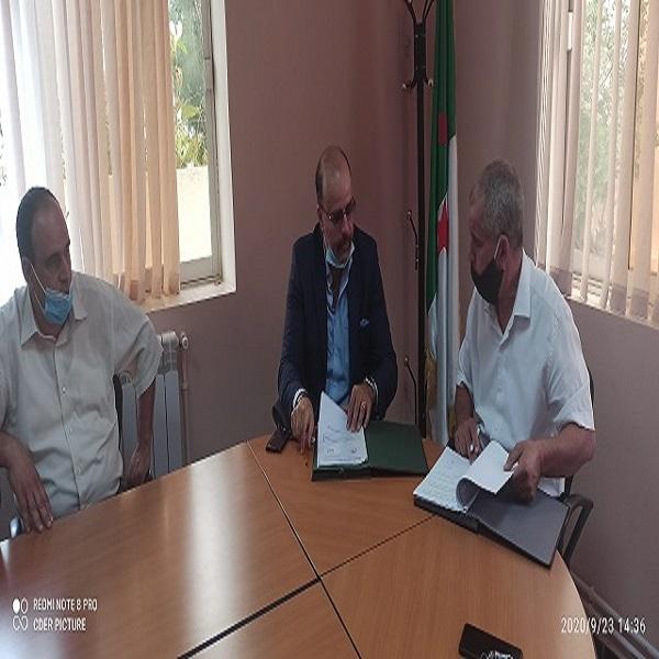 Signature d'une convention cadre de coopération scientifique et technologique entre l'EPST CDER, et L'entreprise FINALGO Algérie