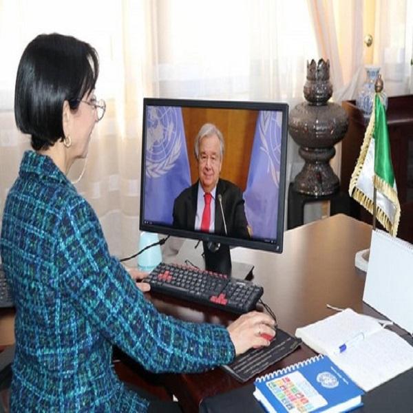 بيئة: السيدة بن حراث تشارك في القمة الدولية المنظمة من طرف هولندا حول التكيف مع تغير المناخ