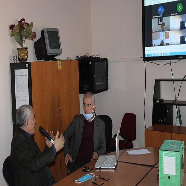 Le Dr Messaoud Khelif, a donné une conférence sous le thème « Genèse des énergies renouvelables en Algérie : Réticence à la libéralisation du marché de l'électricité, stagnation du débat sur les aspects réglementaires et perspectives de déblocage »