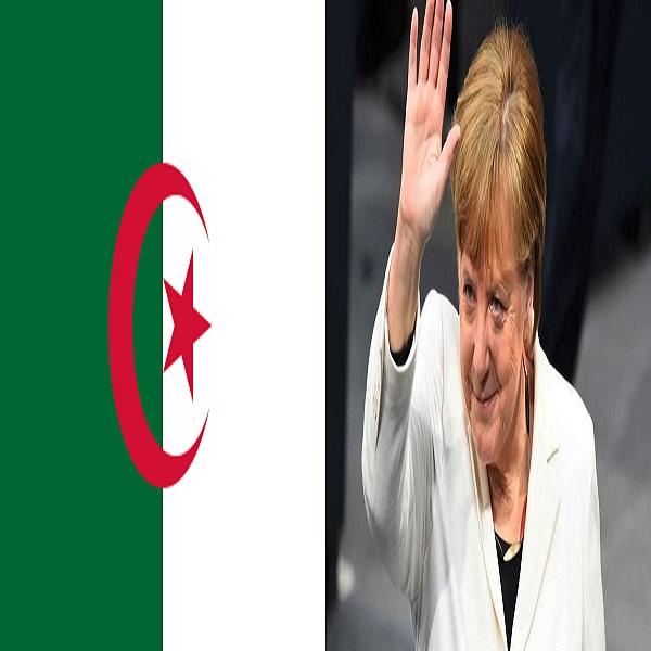 L'Algérie et Angela Merkel