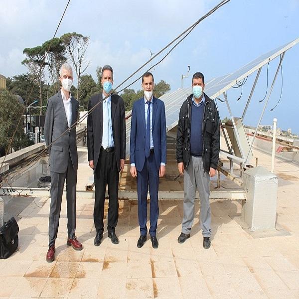 Visite de courtoisie du Conseiller Principal du Partenariat Énergétique Algéro-Allemand au CDER