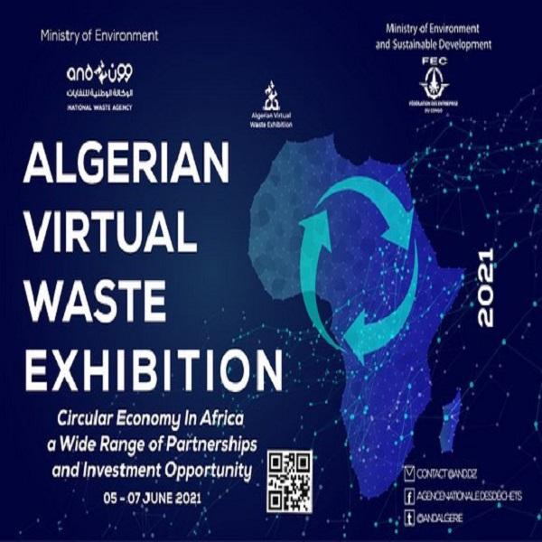 La 2ème édition du Salon virtuel algérien sur les déchets du 5 au 7 juin prochain
